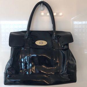 Patent Cotton On Office Handbag 👜
